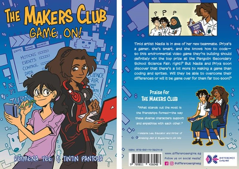 Singapore's Makers Club creates comic to inspire kids to explore coding video games