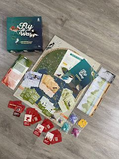 FLY-A-WAY, GET YOURS ON KICKSTARTER - SNEAK PEAK AT A BRAND NEW TO BE LAUNCHED BOARD GAME