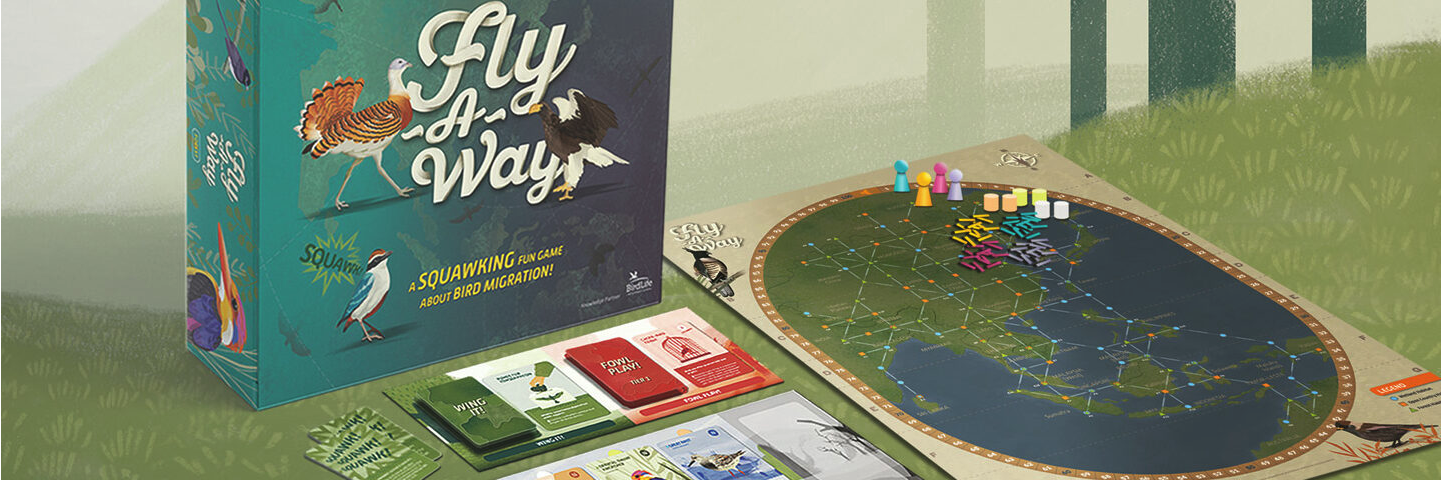 Support migratory bird conservation efforts with a board game