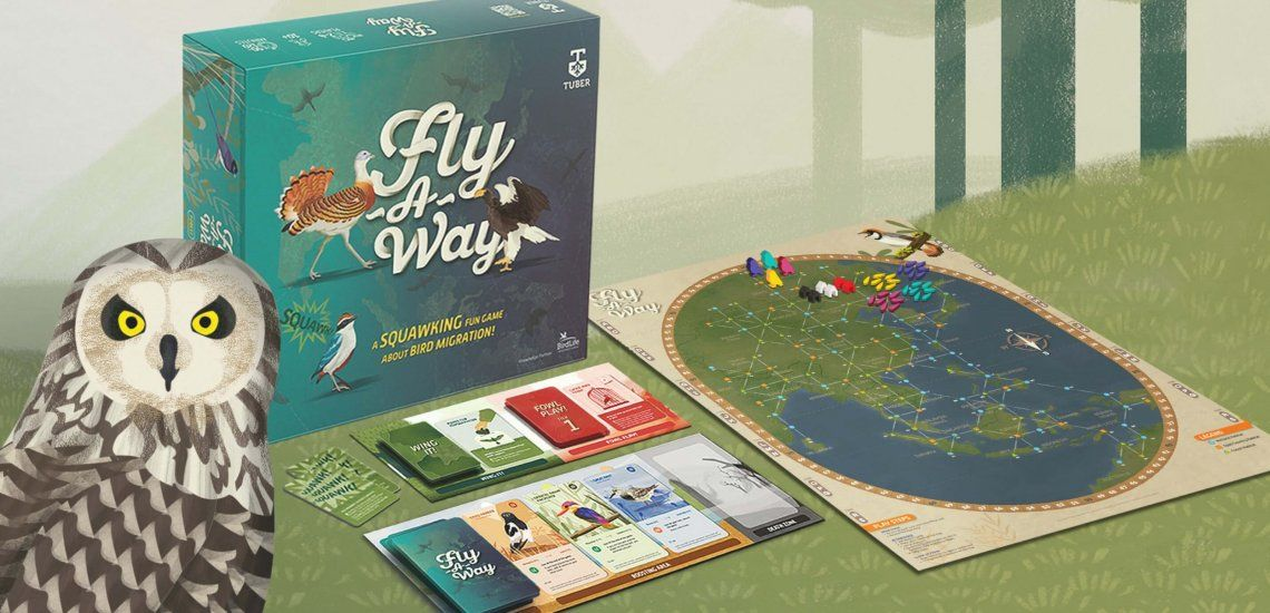 Fly-A-Way: the bird migration board game with an important message