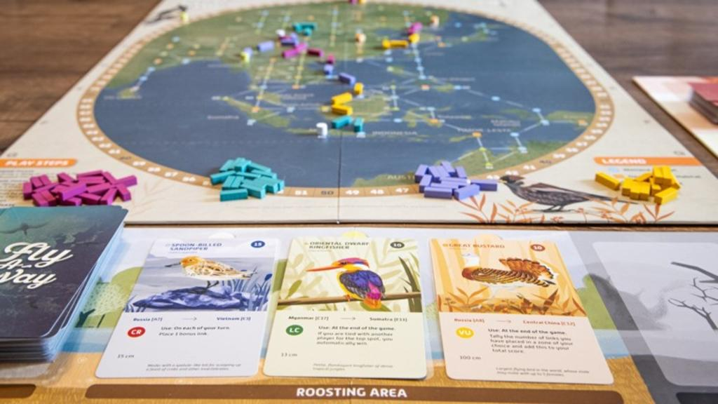 Forget Angry Birds, protect Asian birds: New Singapore board game funded by Kickstarter supports an 'urgent' cause